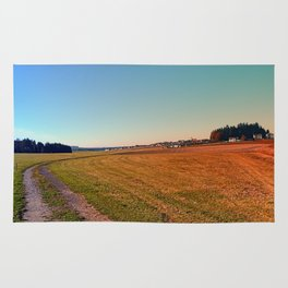 Hiking through beautiful scenery | landscape photography Rug