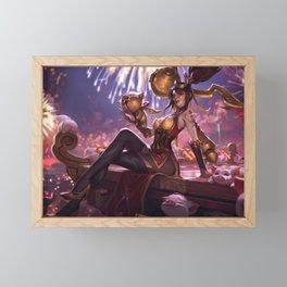 Firecracker Vayne League of Legends Framed Mini Art Print