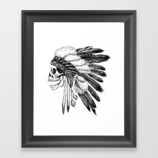 Native American Framed Art Print