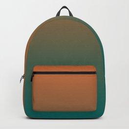Quetzal Green Meerkat Gradient Pattern Backpack