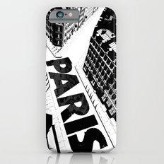 Cities in Black - Paris iPhone 6s Slim Case