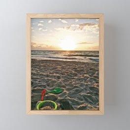 Cloudy Morning In The Sunshine State (II) Framed Mini Art Print