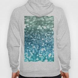 Seafoam Aqua Ocean MERMAID Girls Glitter #4 #shiny #decor #art #society6 Hoody