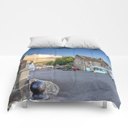 Falkland Summer Evening Comforters