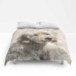Dog Goldendoodle Golden Doodle Comforters