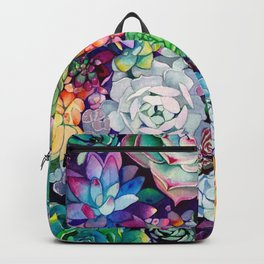 Succulent Garden Backpack