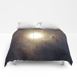 Sun After The Eclipse Comforters