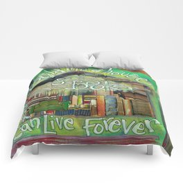 House of Books Comforters