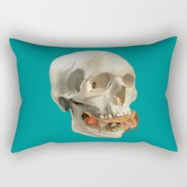 Death By Taco Rectangular Pillow