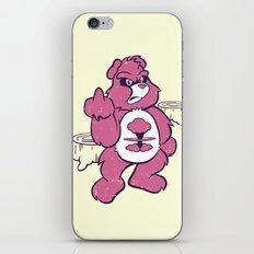 Don't Care Bear  iPhone & iPod Skin