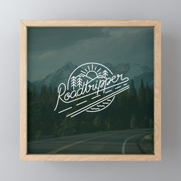 Roadtripper Ride Framed Mini Art Print