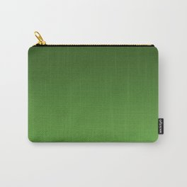 Green Ombré Gradient Carry-All Pouch