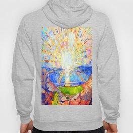 Edvard Munch The Sun Hoody