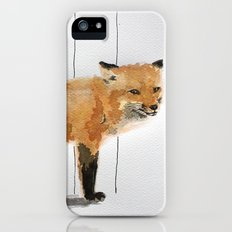 Smiling Fox iPhone (5, 5s) Slim Case