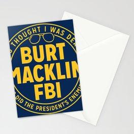 BURT FBI MACKLIN Stationery Cards