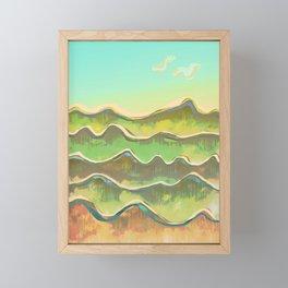 Magic Flight over the Sea of Clouds Framed Mini Art Print