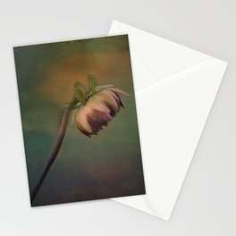 Once Upon a time a lonely flower Stationery Cards