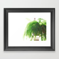 Fern-Green Framed Art Print