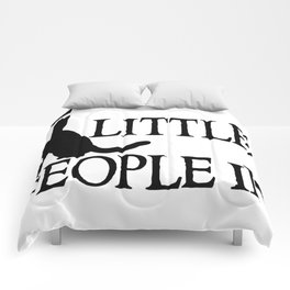 Cats are little people... Comforters
