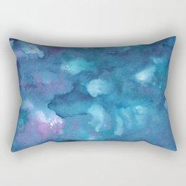 Dreamy Ocean Abstract Painting #1 #ink #decor #art #society6 Rectangular Pillow