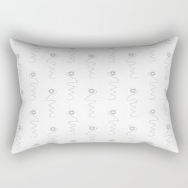 Face (Linism moviment) Rectangular Pillow