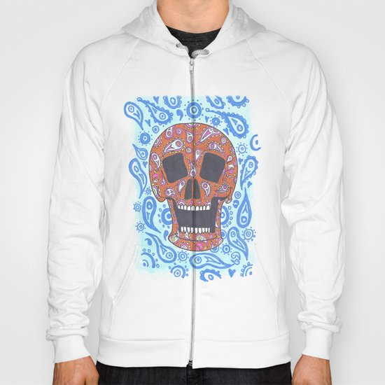 Paisley Skull Hoody