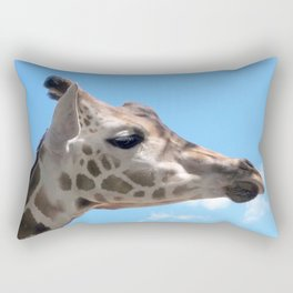 Disapproving Giraffe Rectangular Pillow