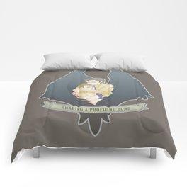 [ Supernatural ] Destiel Castiel Dean Winchester Comforters