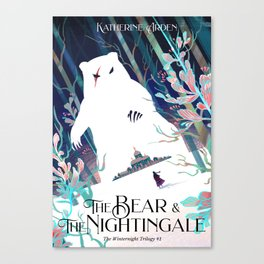 The Bear and The Nightingle Canvas Print