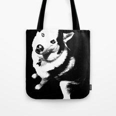 Husky Husky Tote Bag