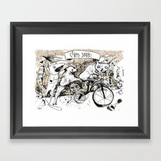 Chens Savants Framed Art Print