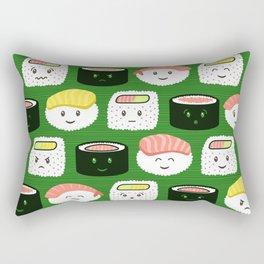 Yatta, Sushi! Rectangular Pillow