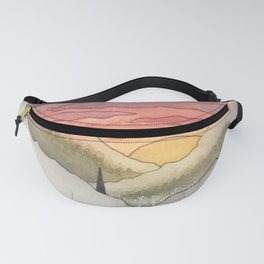 Rusty Light on the Pines Fanny Pack