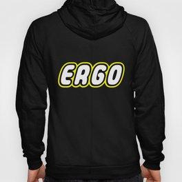 ERGO in Brick Font Logo Design by Chillee Wilson Hoody