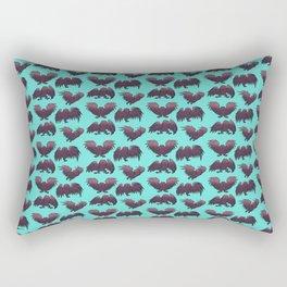 Kawaii Mothman pattern Rectangular Pillow