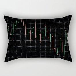 Bars and fractal Rectangular Pillow