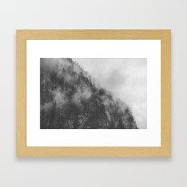 Moody clouds 3 Framed Art Print
