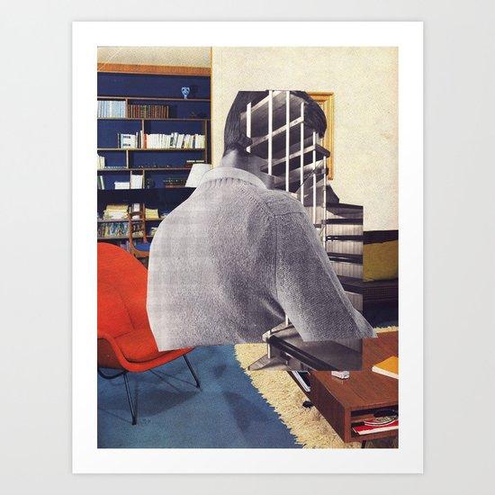 architect mind Art Print