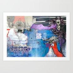 Information Exchange Art Print