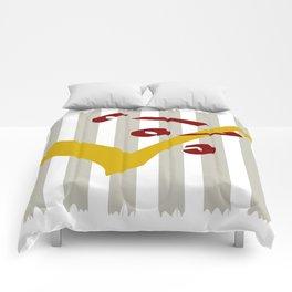 minimalist duo Comforters