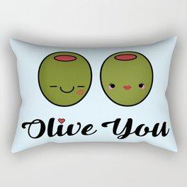 Olive You! Rectangular Pillow