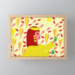 ELECTRA Framed Mini Art Print