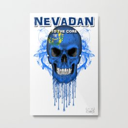 To The Core Collection: Nevada Metal Print
