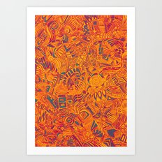 Flavor Art Print