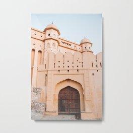 Amber Fort in Jaipur, Rajasthan, India | Travel Photography | Metal Print