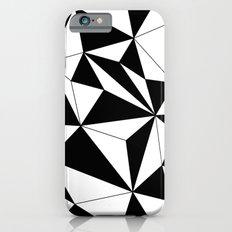 Geo - black and white iPhone 6s Slim Case