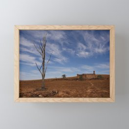 Flinders Ranges Desert Landscape Framed Mini Art Print