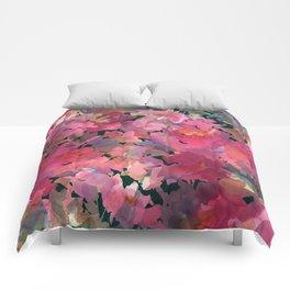 Red Rose Garden Comforters