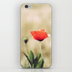 Vintage Summer - Poppy iPhone & iPod Skin