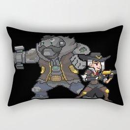 ashe and bob Rectangular Pillow